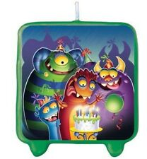 """Monster Mania Candle / Cake Topper 3"""" Tall (Fast Shipping)"""