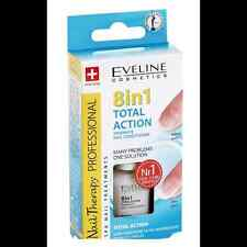Best Price Intensive Nail Strengthener Conditioner EVELINE 8 in 1 TOTAL ACTION