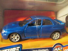 MAISTO ADVENTURE FORCE Dark Blue SUBARU IMPREZA WRX STI - SCALE 1:40 - RARE!