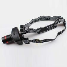 3W 500 Lumens LED 3-Mode Zoomable Headlamp Headlight Head Torch Light Lamp