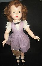 GORGEOUS VINTAGE EFFANBEE  HONEY WALKER  DOLL WITH ORIGINAL HANG TAG