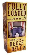 FULLY LOADED TWIN BEER BOOZE HOLSTER AND SHOT BELT PERFECT DRINKING STAG