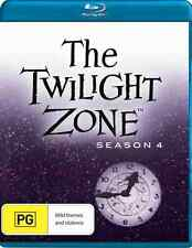 Twilight Zone - 5 Disc Blu Ray - Season 4 - All Region A B C - All 18 Episodes