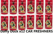 12x DAFFY DUCK CAR AIR FRESHENER DEODORISER PURIFIER ODOUR