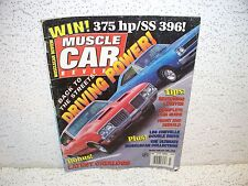 Musclecar Review Magazine July 1996 Oldsmobile 442 Plymouth Road Runner