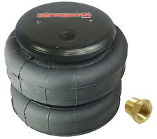 "1 standard 2500lb air bag suspension part single 3/8""npt port air spring"