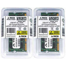 4GB KIT 2 x 2GB HP Compaq Business nx6320 nx6325 nx6330 nx7400 Ram Memory