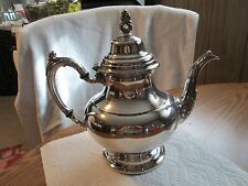 Vintage Silver Plated Oneida Silversmiths Coffee/Tea Pot AMAZING+GORGEOUS L@@K