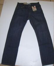 NEW Levi's 514 dark wash Slim fit Straight leg jeans boy sz 14 regular 27 x 27
