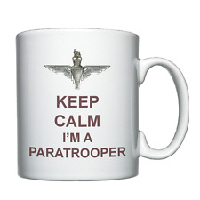 Keep Calm I'm A Paratrooper - Personalised Mug - Parachute Regiment