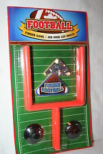 Brand New Finger Football Game 2 Goal Posts with suction cups 2 Footballs