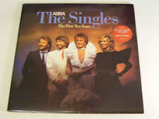 ABBA The Singles:  the First Ten Years Ex+ Epic UK 1982 2LP