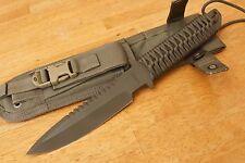 """STRIDER knives MT Olive green 6 1/4"""" S30v blade  tactical knife molle  sheath"""