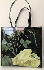 TED BAKER WOMEN'S FLORAL EMBELLISHED TOTE BAG