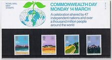 GB Presentation Pack 143 Commonwealth Day 1983 10% OFF FOR ANY 5+