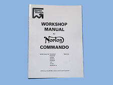 NORTON COMMANDO 750 AND 850 WORKSHOP MANUAL.PART NUMBER 06-5146.