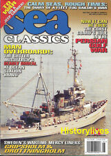 Sea Classics May 2000 Persian Gulf War Sweden Gripsholm Drottningholm Tug Sailor