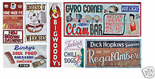 N Scale Food & Beverage Building / Structure Decals #1