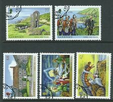 GUERNSEY 2015 SARK 450 YEARS AS A FIEFDOM  FINE USED SET OF 5