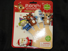 RUDOLPH THE RED NOSE NOSED REINDEER FINGER PUPPETS ISLAND OF MISFIT TOYS BUMBLE