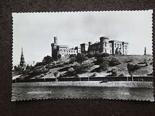 BLACK & WHITE RP POSTCARD OF INVERNESS CASTLE BY VALENTINES