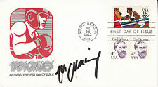 """MAX SCHMELING (1905-2005) hand signed 1983 FDC autographed """"1984 Games"""""""