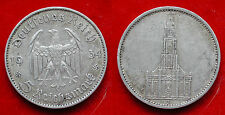 MONETA COIN GERMANIA DEUTSCHLAND 5 MARK 1934.J POTSDAM ARGENTO SILBER SILVER