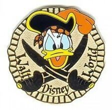 Disney Pin: WDW Cast Lanyard Series 2 - Pirates (Donald) Coin Doubloon