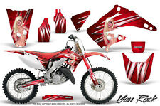 HONDA CR 125 250 02-15 GRAPHICS KIT CREATORX DECALS STICKERS YRR
