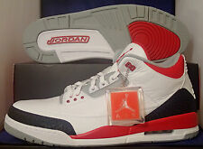 Nike Air Jordan 3 III Retro Fire Red SZ 17 ( 136064-120 )