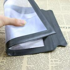 A4 Full Page Large Assisted Reading Magnifying Glass Sheet 3X Magnifier Loupe