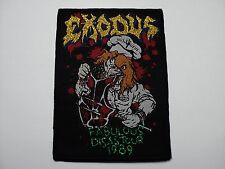exodus fabulous disaster  woven patch
