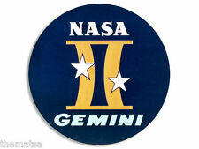"4"" GEMINI 2 SPACE ASTRONOMY NASA MISSION HELMET BUMPER STICKER DECAL MADE IN USA"