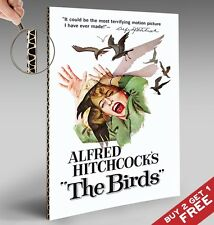 Alfred Hitchcock The Birds * Vintage Movie Poster A4 Glossy Foto impresión de foto