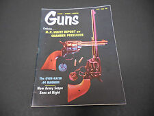 Guns Magazine July 1965 Colt Pistols .44 Magnums Army Scope Chamber Pressures