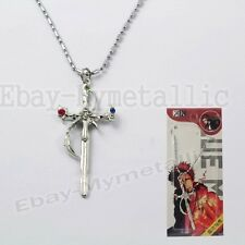 K Homra Red King Suoh Mikoto Weapon Pendant Necklace Cosplay #01