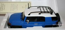 1:18 Autoart Toyota FJ Cruiser Blue *Dealer Edition*