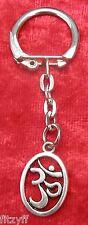 Om Key Ring Small Keyring Gift Aum Praṇava ॐ ओम् Omkara Auṃkāra Aumkāra
