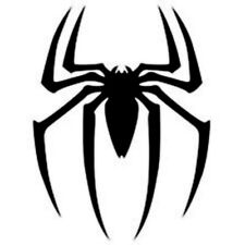 The Reflective Spider sticker/Decal for Car or Bike