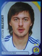 Panini 466 Artem Milevskiy Dynamo Kyiv Kiew UEFA CL 2007/08