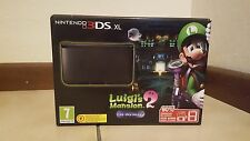 Nintendo 3DS XL: Console + Luigi's Mansion, Nero - Bundle Limited Edition  FW4.5