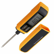Food Thermometer Kitchen Dining Bar Temperature Tester Stainless Steel Probe