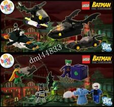 2008 McDonalds Batman Lego MIP Complete Set - Lot of 8,  3+
