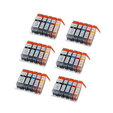 30 Pack Canon PGI-220 CLI-221 Ink Cartridges For MP620 MP640 MX860 MX870 Pixma
