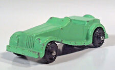 "Vintage Midgetoy 1960s MG Convertible 2"" Die Cast Scale Model Lime Green"