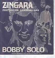"BOBBY SOLO 7""PS Spain 1969 Zingara SAN REMO"