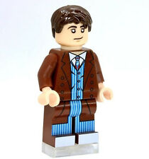 A890 Lego CUSTOM PRINTED Dimensions game Tenth Doctor Who DAVID TENNANT MINIFIG