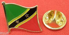Saint Kitts and Nevis Flag Lapel Hat Tie Pin Badge St Christopher & Nevis Brooch
