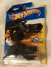 "LOT # 909 HOT WHEELS ""THE BAT"" Batmobile vehicle fr/THE DARK KNIGHT RISES 2012"
