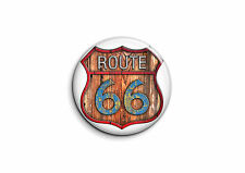 Logo Racers - Route 66 2 - Badge 56mm Button Pin